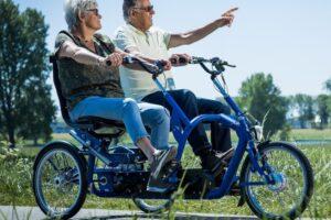 Dutch cargo Bike Duo Electric Bike NDIS