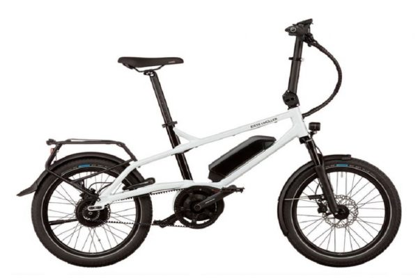 Riese and Muller Tinker Electric Bike in White