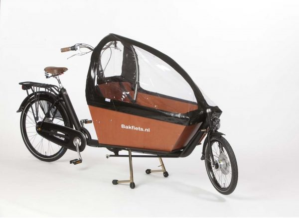 rain cover accessory for bakfiets cargo bike