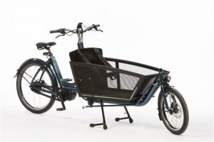 Bakfiets Shadow Cargo Bike with Shimano Steps 6100 Di2 Disc side view