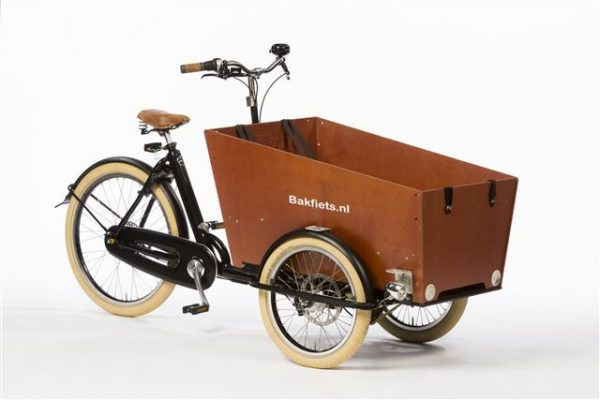 Bakfiets cargo bike with 3 wheels tricycle