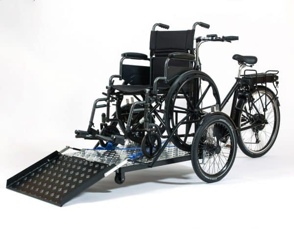 Nihola Flex Wheelchair Bike