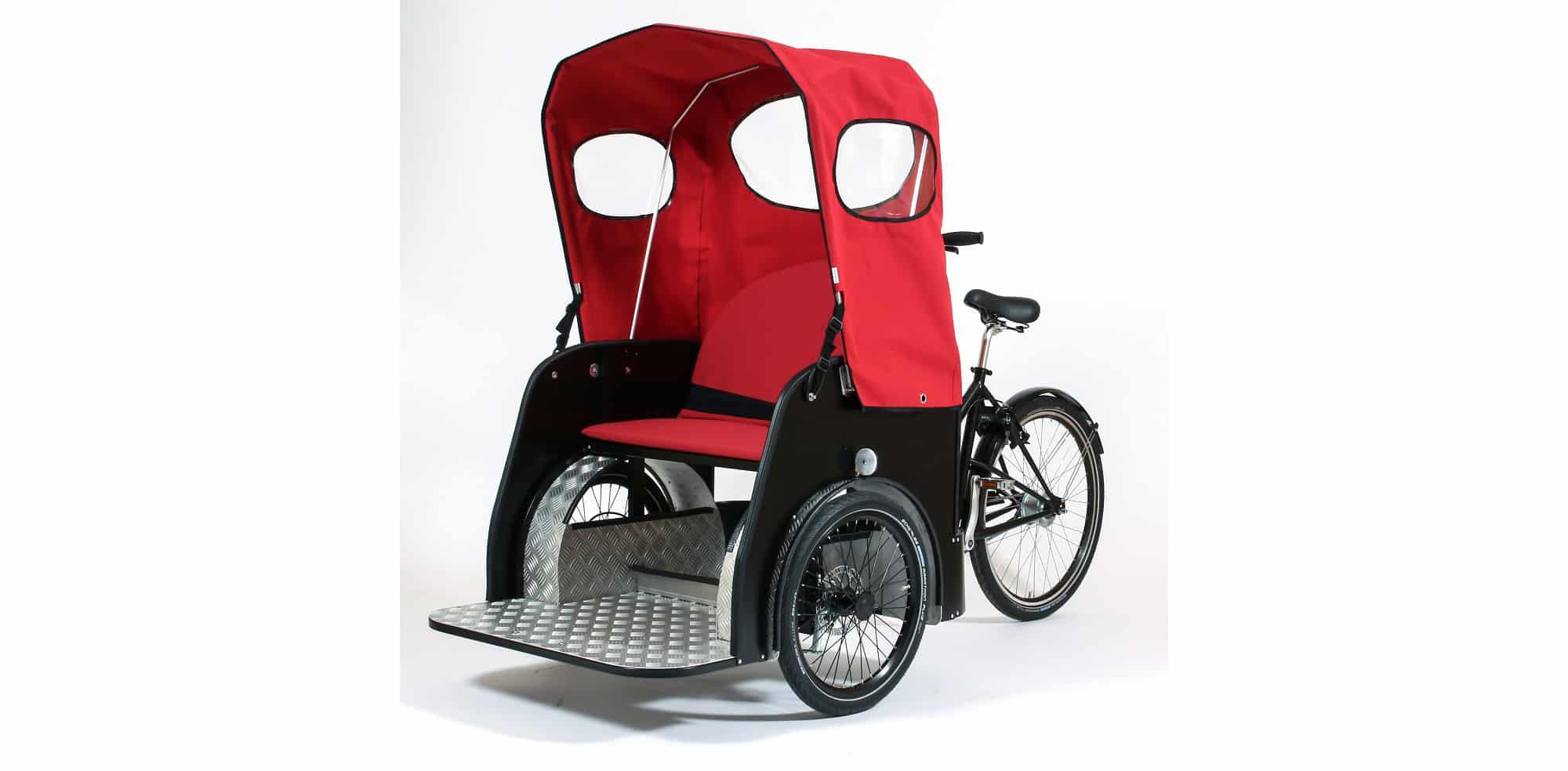 Nihola Taxi Rickshaw CWA Disabled Bike Special Needs Passenger Bike