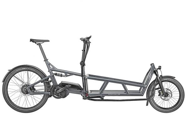 Riese and Muller Load 75 Cargo Electric Bike side view