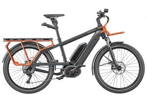 Riese and Muller Multicharger Electric Bike in Black