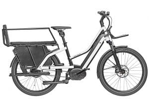 Riese and Muller Multicharger Electric Bike in White