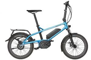 Riese and Muller Tinker Electric Bike in Blue