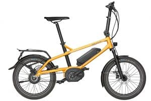 Riese and Muller Tinker Electric Bike in Orange