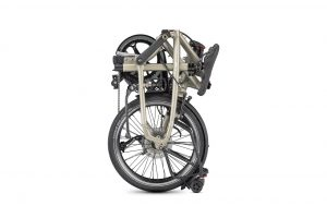 Tern BYB P8 folding bike shown folded