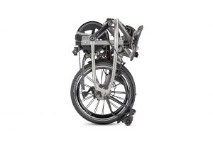 Tern BYB S11 folding bike shown folded