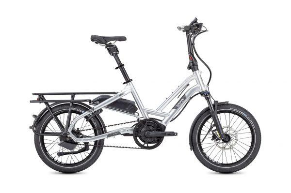 Tern HSD S+ folding bike side view silver