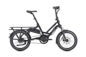 Tern SHD S8i folding bike electric bike side view
