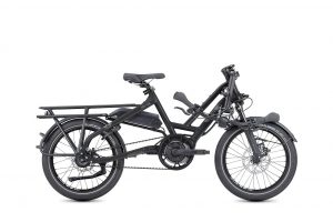 Tern HSD S8i Folding Bike Electric Bike in Black