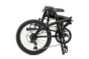Tern Link B7 Folding Bike Shown Folded