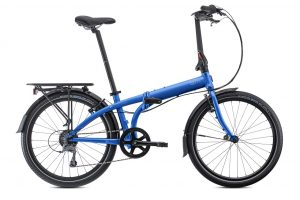 Tern Node d8 Folding Bike in Blue
