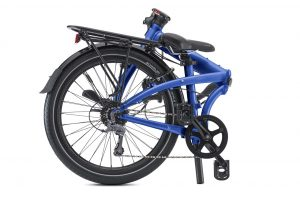 Tern Node d8 Folding Bike Shown Folded