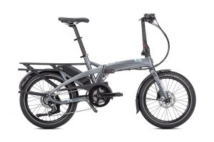 Tern Vektron p7i folding bike side view
