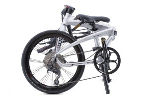 Tern Verge p10 Folding Bike shown folded