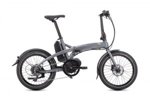 Tern Vektron D8 folding bike side view