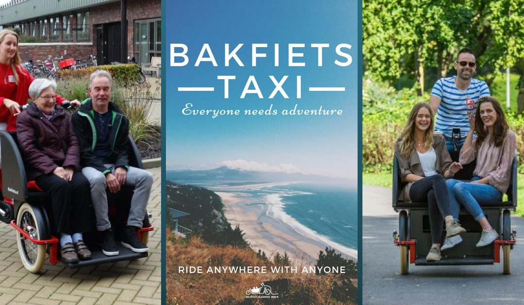 BAKFIETS TAXI – FOR ELDERLY PEOPLE
