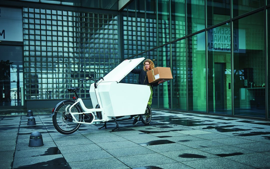 Cargo bikes can deliver faster than vans with massive benefits.