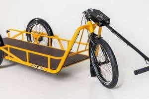 Carla Cargo Bike Trailer in Yellow