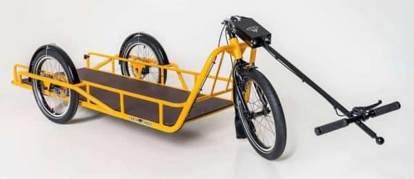 Carla Cargo Bike Trailer in Yellow