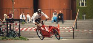 Dutch Cargo Bike Red Bullitt