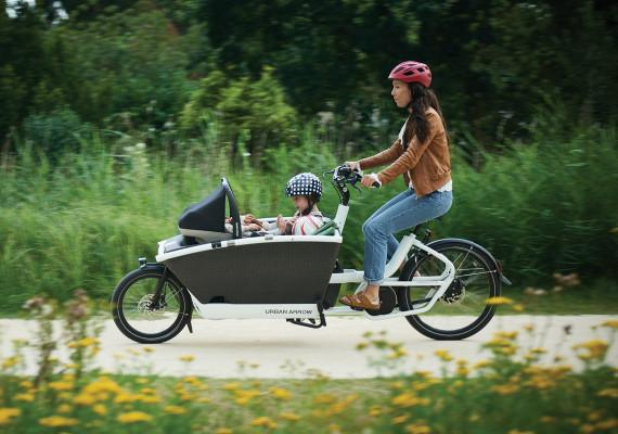 Urban Arrow Bosch performance line gets you to the park